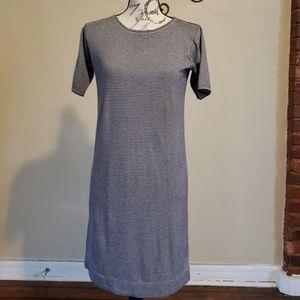 J.Crew Strip Short Sleeve Dress
